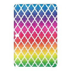 Colorful Rainbow Moroccan Pattern Samsung Galaxy Tab Pro 12 2 Hardshell Case