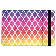 Colorful Rainbow Moroccan Pattern Ipad Air Flip