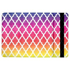 Colorful Rainbow Moroccan Pattern Ipad Air 2 Flip