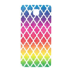Colorful Rainbow Moroccan Pattern Samsung Galaxy Alpha Hardshell Back Case