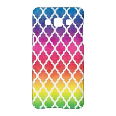 Colorful Rainbow Moroccan Pattern Samsung Galaxy A5 Hardshell Case