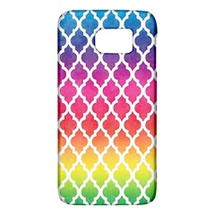 Colorful Rainbow Moroccan Pattern Galaxy S6