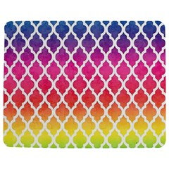 Colorful Rainbow Moroccan Pattern Jigsaw Puzzle Photo Stand (rectangular)
