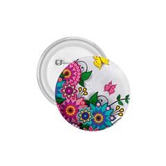 Flowers Pattern Vector Art 1 75  Buttons
