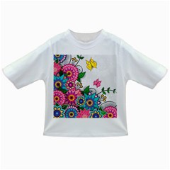 Flowers Pattern Vector Art Infant/toddler T Shirts