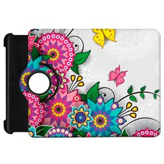 Flowers Pattern Vector Art Kindle Fire Hd 7