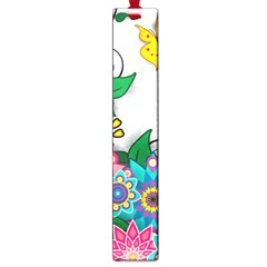 Flowers Pattern Vector Art Large Book Marks