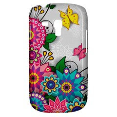 Flowers Pattern Vector Art Galaxy S3 Mini