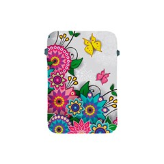 Flowers Pattern Vector Art Apple Ipad Mini Protective Soft Cases