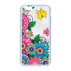 Flowers Pattern Vector Art Apple Seamless iPhone 6/6S Case (Color)