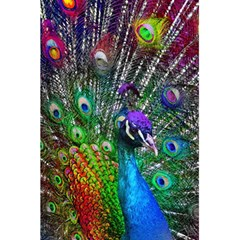 3d Peacock Pattern 5 5  X 8 5  Notebooks