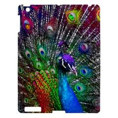 3d Peacock Pattern Apple Ipad 3/4 Hardshell Case