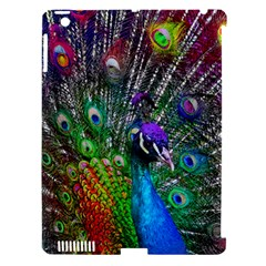 3d Peacock Pattern Apple Ipad 3/4 Hardshell Case (compatible With Smart Cover)