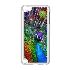 3d Peacock Pattern Apple Ipod Touch 5 Case (white)