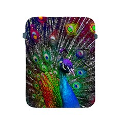 3d Peacock Pattern Apple iPad 2/3/4 Protective Soft Cases
