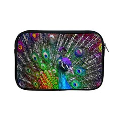 3d Peacock Pattern Apple Ipad Mini Zipper Cases
