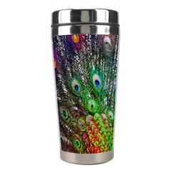 3d Peacock Pattern Stainless Steel Travel Tumblers
