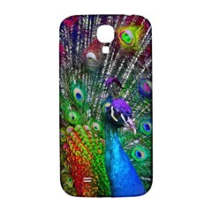 3d Peacock Pattern Samsung Galaxy S4 I9500/i9505  Hardshell Back Case