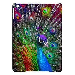 3d Peacock Pattern iPad Air Hardshell Cases