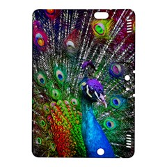 3d Peacock Pattern Kindle Fire Hdx 8 9  Hardshell Case