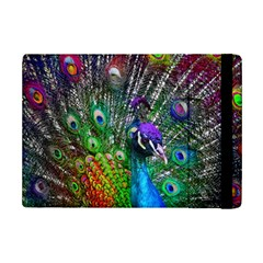 3d Peacock Pattern iPad Mini 2 Flip Cases