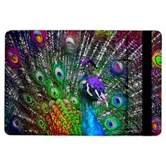 3d Peacock Pattern Ipad Air Flip