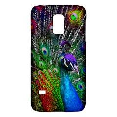 3d Peacock Pattern Galaxy S5 Mini