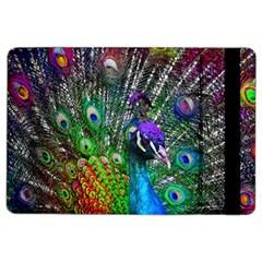 3d Peacock Pattern Ipad Air 2 Flip