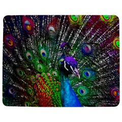 3d Peacock Pattern Jigsaw Puzzle Photo Stand (rectangular)