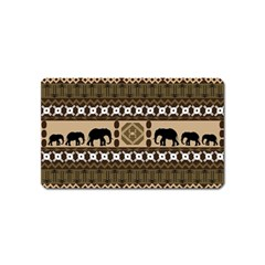 African Vector Patterns  Magnet (name Card)
