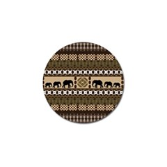 African Vector Patterns  Golf Ball Marker (4 Pack)