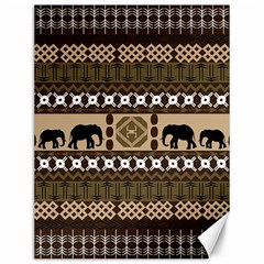 African Vector Patterns  Canvas 12  X 16