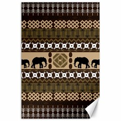 African Vector Patterns  Canvas 24  X 36