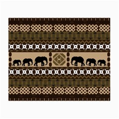 African Vector Patterns  Small Glasses Cloth (2-Side)