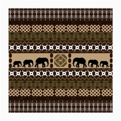 African Vector Patterns  Medium Glasses Cloth