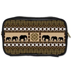 African Vector Patterns  Toiletries Bags 2 Side