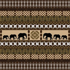 African Vector Patterns  Magic Photo Cubes