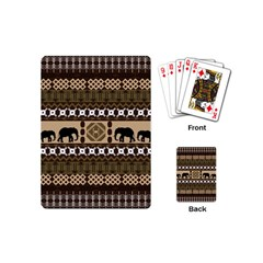 African Vector Patterns  Playing Cards (mini)