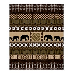African Vector Patterns  Shower Curtain 60  X 72  (medium)