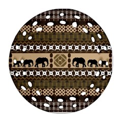 African Vector Patterns  Ornament (round Filigree)