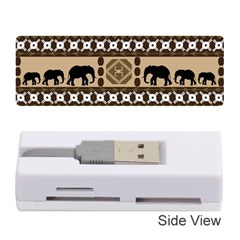 African Vector Patterns  Memory Card Reader (stick)