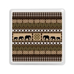 African Vector Patterns  Memory Card Reader (square)