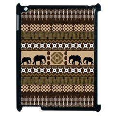 African Vector Patterns  Apple Ipad 2 Case (black)