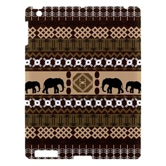 African Vector Patterns  Apple iPad 3/4 Hardshell Case
