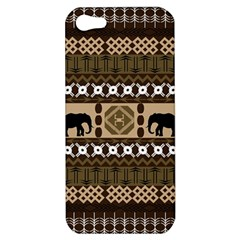 African Vector Patterns  Apple Iphone 5 Hardshell Case