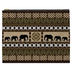 African Vector Patterns  Cosmetic Bag (XXXL)