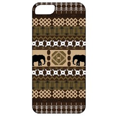 African Vector Patterns  Apple iPhone 5 Classic Hardshell Case