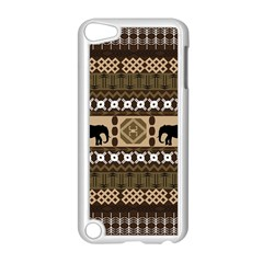 African Vector Patterns  Apple Ipod Touch 5 Case (white)
