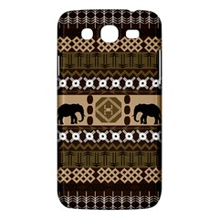 African Vector Patterns  Samsung Galaxy Mega 5 8 I9152 Hardshell Case