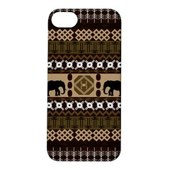 African Vector Patterns  Apple Iphone 5s/ Se Hardshell Case